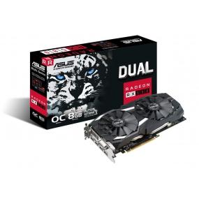 Asus Radeon Dual-RX580-O8G 8GB GDDR5