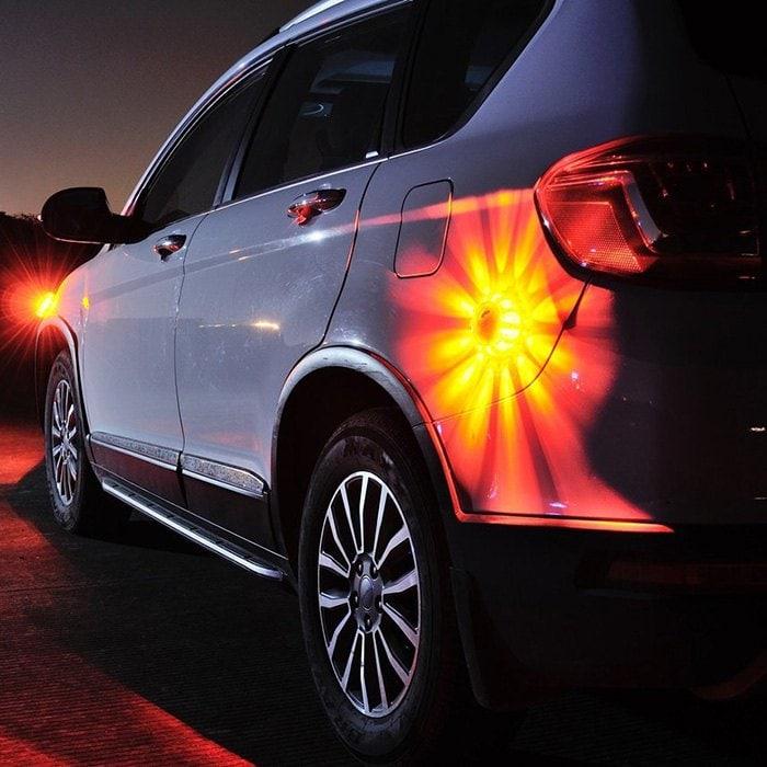 Luces de emergencia extras - 8 modos de iluminación
