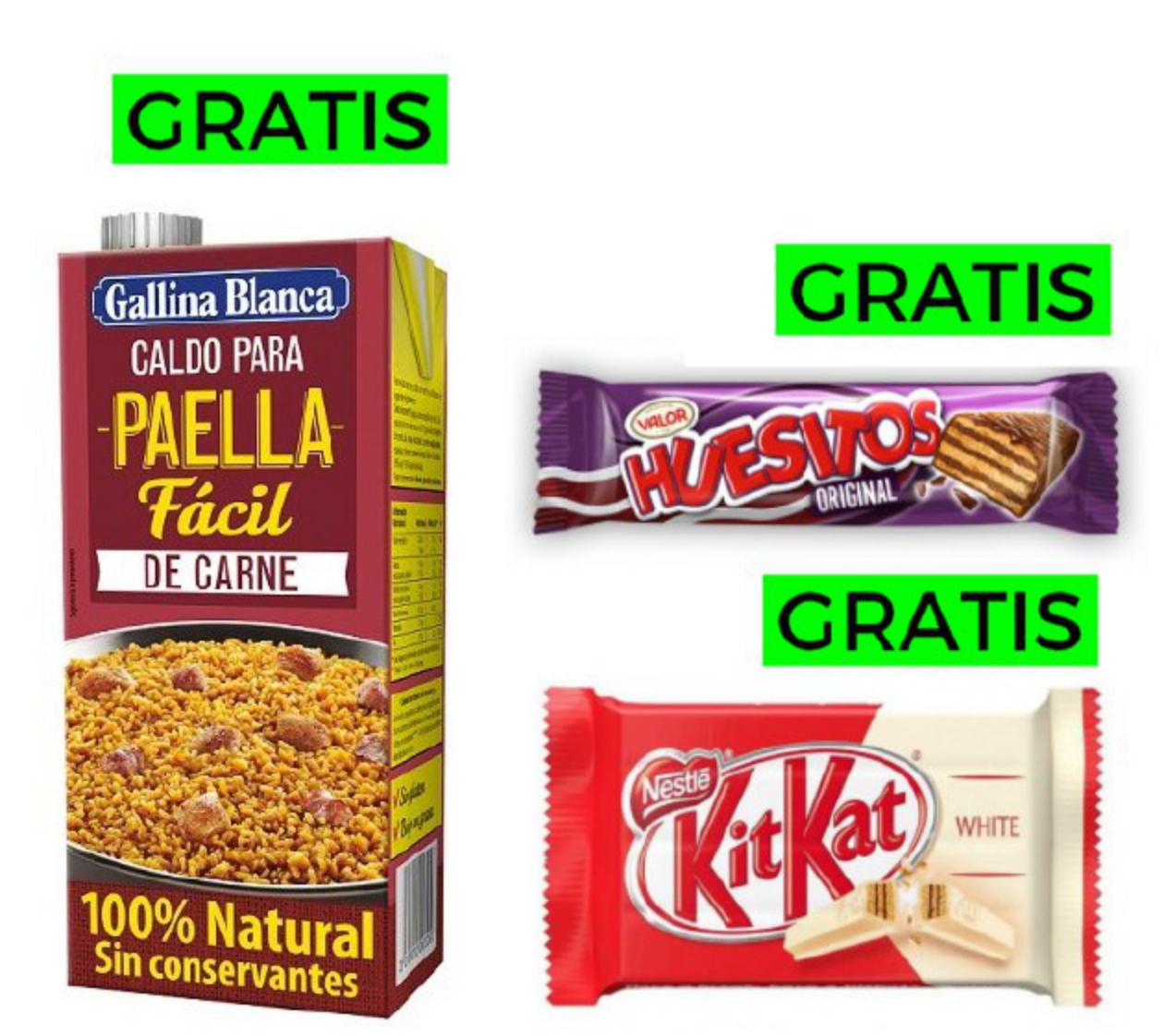 Productos gratis y preciazos en MeQuedoUno